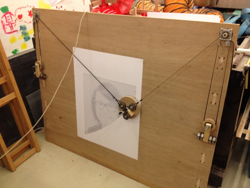 Polargraph in Exhibition – Victor Leung